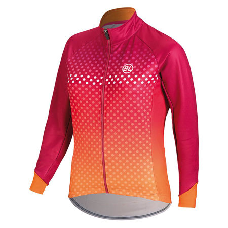 Picture of JAKNA BICYCLE LINE ICONA THERMAL W FUCHSIA/ORANGE