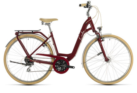 Picture of CUBE ELLA RIDE RED´N´CREAM EASY ENTRY 2020