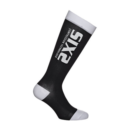 Picture of ČARAPE SIXS RECOVERY BLACK/WHITE