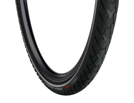 Picture of V. guma 28X1.5/8X1.3/8 PERFECT EXTREME RS Black/Black 28124L Vredestein