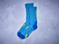 Picture of Čarape Cube MOUNTAIN Blue 'n' Lime 11833