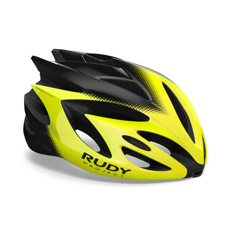 Picture of KACIGA RUDY PROJECT RUSH YELLOW FLUO/BLK SHINY