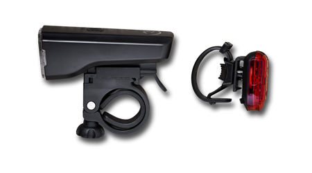 Picture of Lampa set RFR TOUR 25 black 14314