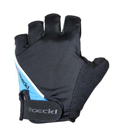 Picture of Rukavice Roeckl kratki prsti  SMU Black/Blue