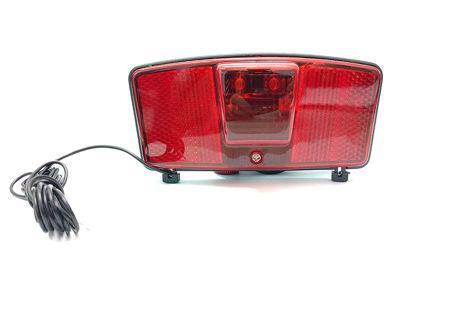 Picture of Lampa stražnja na nosač tereta za dinamo 2 Led MS 466955