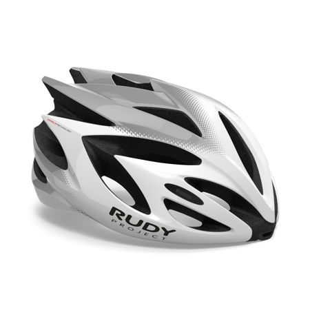 Picture of Kaciga Rudy Project RUSH White-Silver Shiny