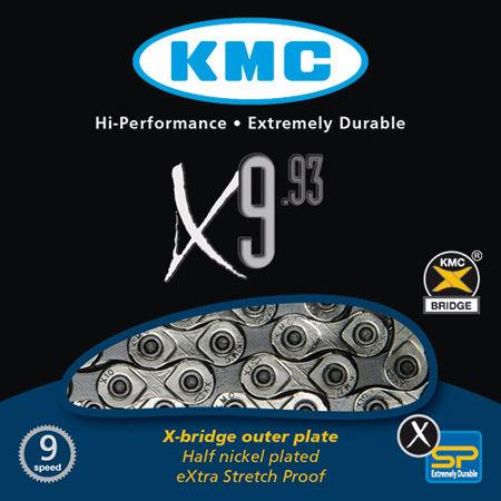 Picture of Lanac KMC X9.93 NP/GYX 116L 9B