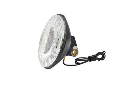 Picture of Lampa prednja-DINAMO BOX 6V/2.4W Plastic Black MS 461446
