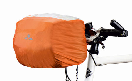 Picture of Navlaka za torbu Vaude RAINCOVER FOR HANDLE BAR BAG Orange