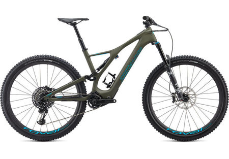 Picture of Specialized Turbo Levo SL Expert Carbon 2020. Oak Green / Aqua