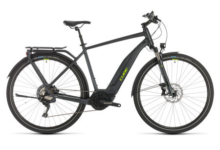 Picture of CUBE TOURING HYBRID EXC 500 IRIDIUM´N´GREEN 2020