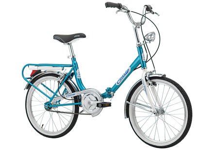 "Picture of Cinzia FIRENZE 20"" Single speed Blue - White"