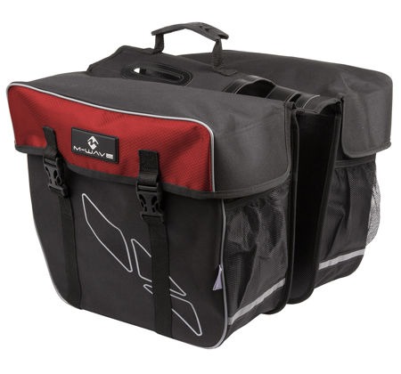 Picture of BISAGE M-WAVE AMSTERDAM REFLEX 30L BLACK/RED MS 122803